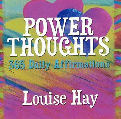 Power Thoughts - 365 Daily Affirmations by Louise Hay NEW