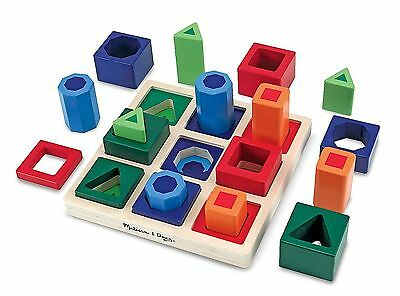 Autism Sensory Educational Puzzle Creative Sorting Shape Set Toys Special Needs