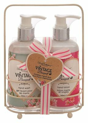 Body Collection Vintage Bouquet Timeless Hand Duo Gift Set