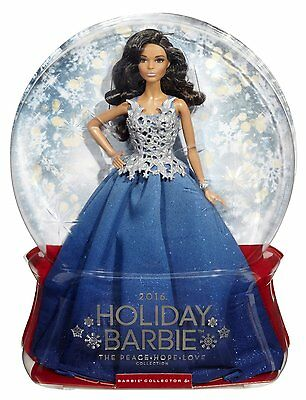 NEW Barbie 2016 Holiday Edition African American Collector Doll
