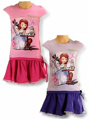 NEW OFFICIALLY LICENSED PRINCESS SOFIA THE FIRST GIRLS SUMMER SET, sizes 2-6yrs