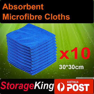 Microfibre Cleaning Cloth Microfiber Dish Car Gym Towel Glass 210GSM 30x30cm