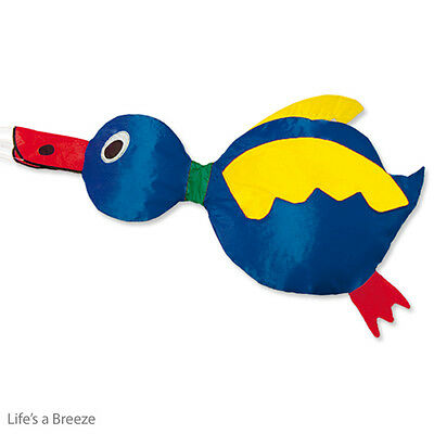 Duck  Windsock blue For Telescopic Flag Poles.  Camping, and Caravan Use.