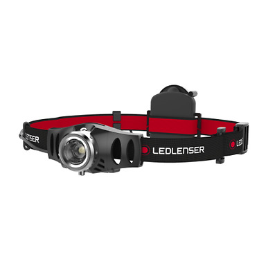 Led Lenser H3 3 Led Head Lap Headtorch Dimmer Switch Fixed Focus Comfort Strap