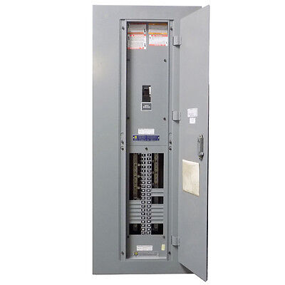 Square D / Schneider Electric 225 Amp Main Breaker Panel 208Y/120 VAC 3Ph 4W