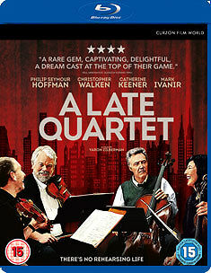 A Late Quartet - Blu-Ray - Region B Uk