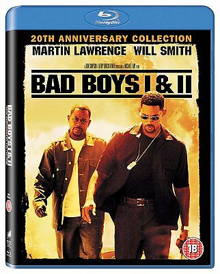 Bad Boys / Bad Boys Ii 20Th Anniversary - Blu-Ray - Region B Uk