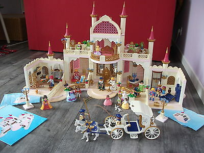 Chateau princesse playmobil 4250 extensions 4255 4251 for Chateau playmobil 4250