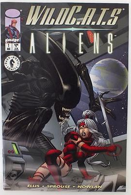 Wildc.a.t.s/Aliens - Issue # 1 (Kane Variant Cover) - Image Comics - 1998 (2180)
