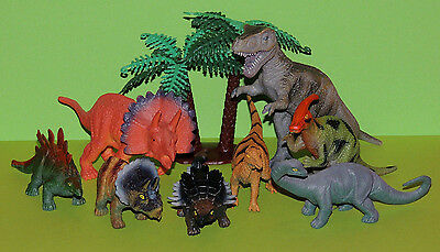Dinosaurier Dino  Set Neu & OVP Nature World 8er Set 10-14cm