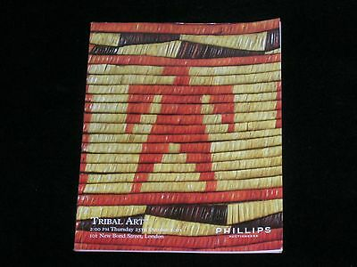 Phillips Tribal Art Auction Catalogue 25 October 2001