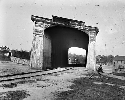 New 11x14 Civil War Photo: Richmond & Danville Railroad Bridge, Richmond