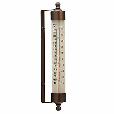 Taylor Precision Products Heritage Spirit-Filled Metal Thermometer (7.5-Inch)