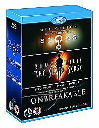 Signs / The Sixth Sense / Unbreakable - Blu-Ray - Region B Uk