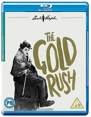 THE GOLD RUSH (Charlie Chaplin) - BLU-RAY - REGION B UK
