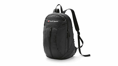 Genuine Audi Sport Packable Backpack Rucksack Bag Gift Idea A1 A3 A4 A5 A6 A7 A8