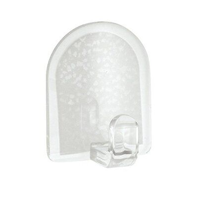 InterDesign Self Adhesive Casa Hook, Clear