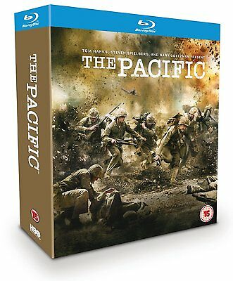 The Pacific : Complete Hbo Series - Blu-Ray - Region B Uk