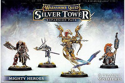 Warhammer Quest: Silver Tower - Mighty Heroes - Games Workshop 5011921074839