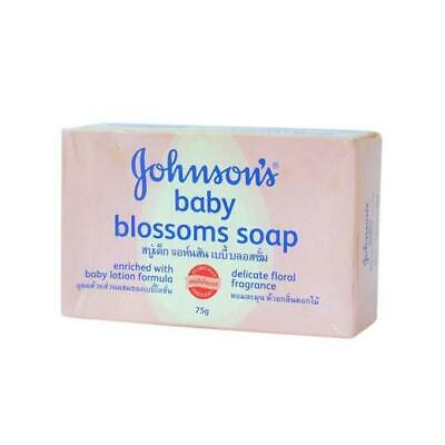 Johnson's Baby Soap - Pink Blossoms Variety - 75G - Free Worldwide P&P!!