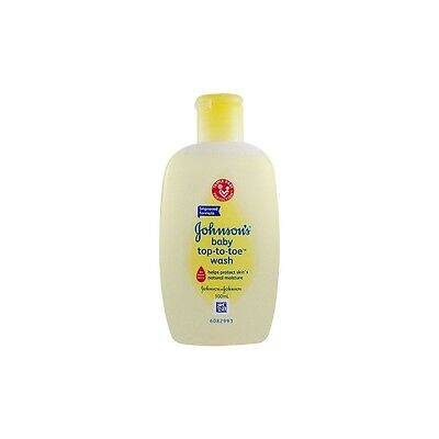 Johnson's Baby Top-To-Toe Wash - Handy 100Ml Travel Pack Size - Hypoallergenic