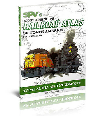 SPV Railroad Atlas Appalachia & Piedmont - Brand New, Latest Edition