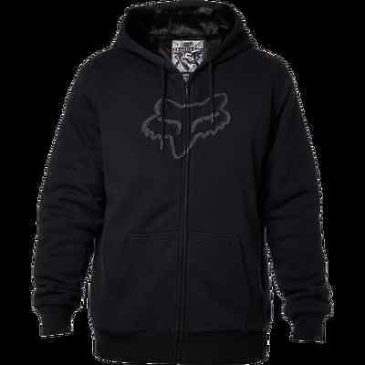 Fox Racing MENS KONSTANT SASQUATCH ZIP FLEECE HOODY HOODIE  Black M