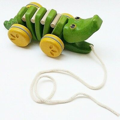 Wooden Toy Pull-a-Long 'Dancing Alligator' by PLAN TOYS