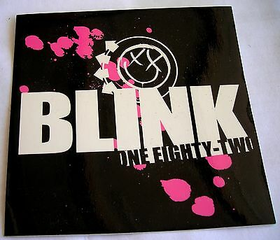Blink 182  sticker Licensed punk rock travis barker 3 color logo