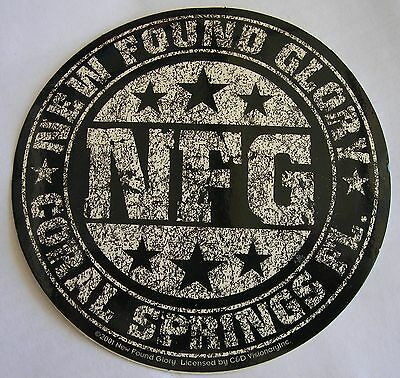 New found Glory sticker Licensed punk rock Logo