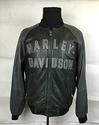 Harley-Davidson Men's 100th Anniversary Centennial Two-Tone Leather Jacket