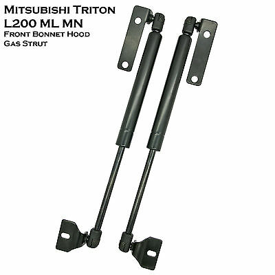 Front Hood Bonnet Gas Shock Strut Damper For Mitsubishi Triton L200 ML MN 05-14