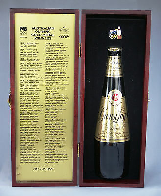 Crown Lager 2000 Sydney Olympics Limited Edition Beer 375ml Gift Boxed