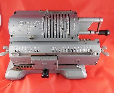 USSR Felix Adding machine arithmometer