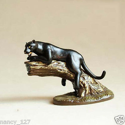 Original Wild Animal Model Black Panther Collectible Figurine Figure Toy Kid Toy
