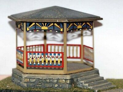 Band stand town centre or parks F106 UNPAINTED OO Scale Langley Models Kit