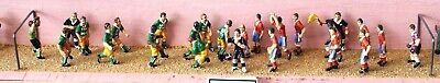 Langley Models Football match 25 figures referee OO Scale UNPAINTED Kit F172