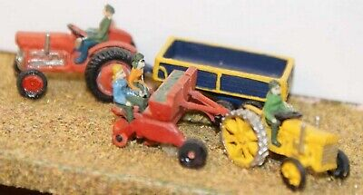 N Scale Unpainted Model Kit Farm machinery / spring planting A29