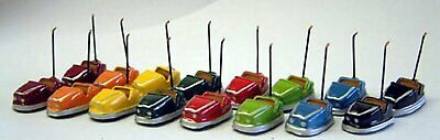 OO Scale Unpainted Model Kit -16 extra 1970's Dodgem cars Q6