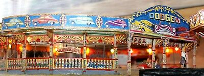 Dodgem Ride 60 70's Art OO Scale 1:76 UNPAINTED Funfair Model Kit Q1a