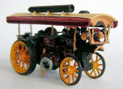 Burrell 8nhp Showmans Locomotive TT Scale 3mm UNPAINTED Model kit 1001