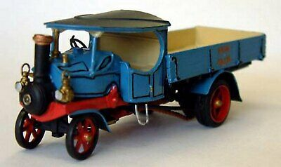 OO Scale Unpainted Model Kit Robey Steam Wagon G182