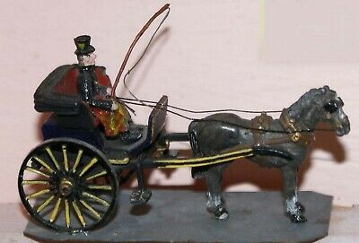 OO Scale Unpainted Model Kit Stanhope Gig Horse Drawn Carriage G22
