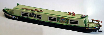 52ft Holiday Narrow Boat steel Hull RESIN F5g UNPAINTED OO Scale Models Kit