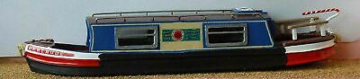 35ft Holiday Canal Boat Narrow Boat F5b UNPAINTED OO Scale Langley Models Kit