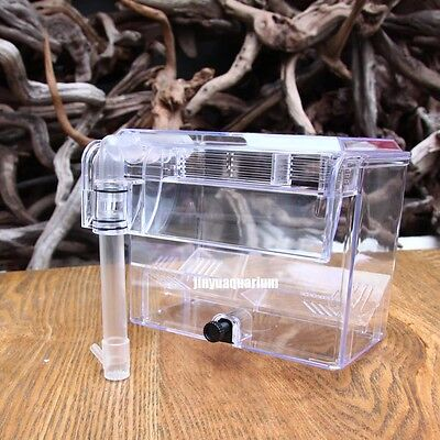 Separation breeding box arcylic aquarium external hang-on small fish shrimp