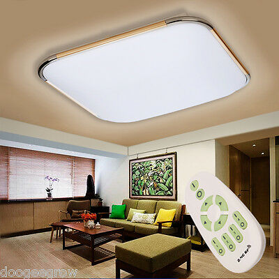 inalambrica 30W LED Lámpara iluminacion Techo Panel Ceiling Light Control Remoto