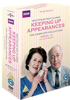 Keeping Up Appearances - Complete Collection - Dvd - Region 2 Uk