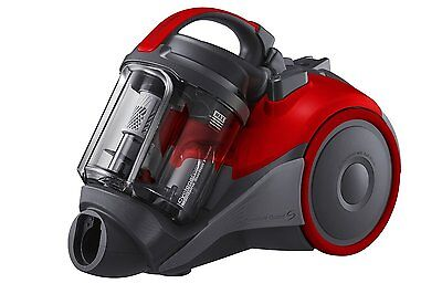 Samsung VC4000 Bagless Cylinder Vacuum Cleaner   1.5L Capacity   Flame Red