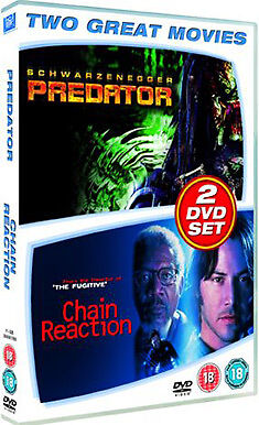 Predator / Chain Reaction - Dvd - Region 2 Uk